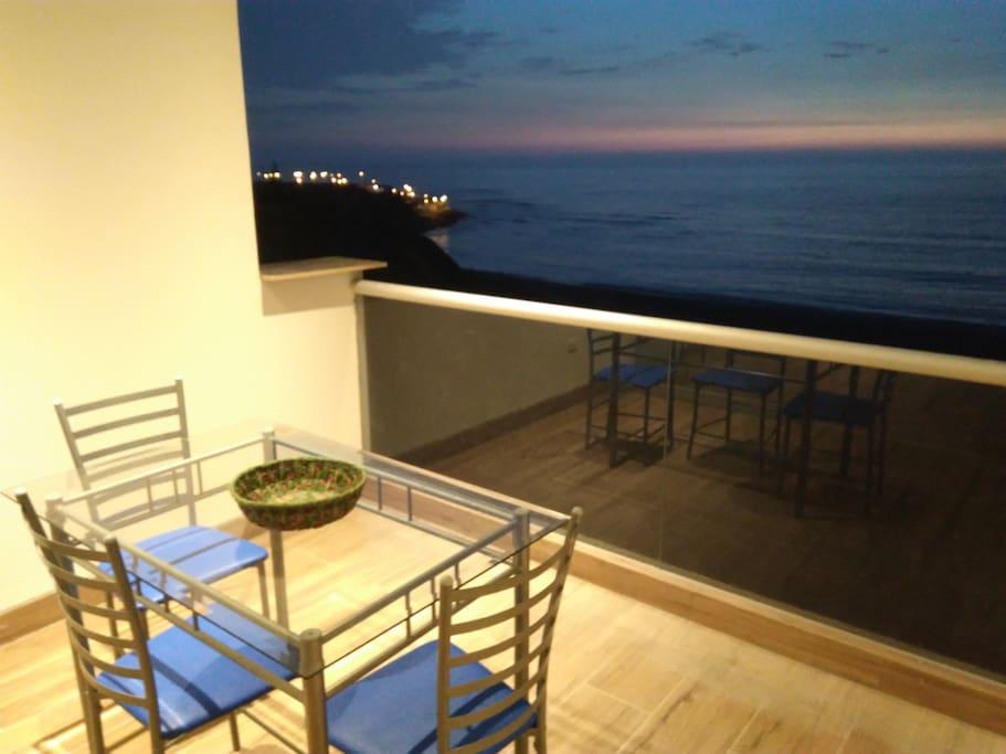 Twilight from Balcony
