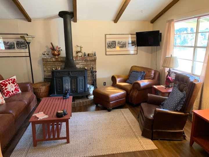 Cozy Bear - Quiet 3 Bedroom Cabin, WIFI,  Great Views of the River and the Local Wildlife!