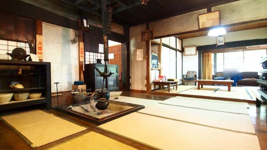 300 years old Japanese Traditional House in Forest - Ina-shi - Maison