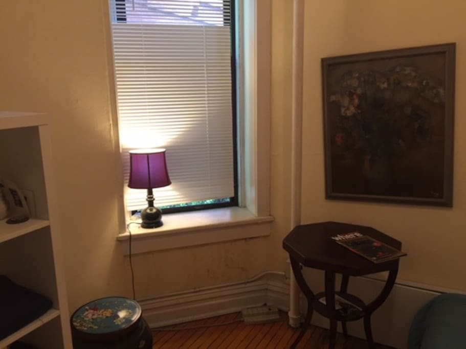 Wake up surrounded with an art collection and antique furniture