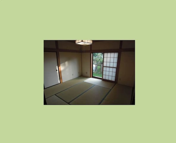 Tatami room in Tsukuba for researchers & families