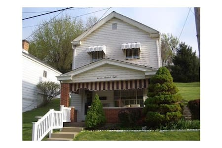 Cozy 2 bed 1 ba cottage on SP trails! - Pittsburgh - Maison