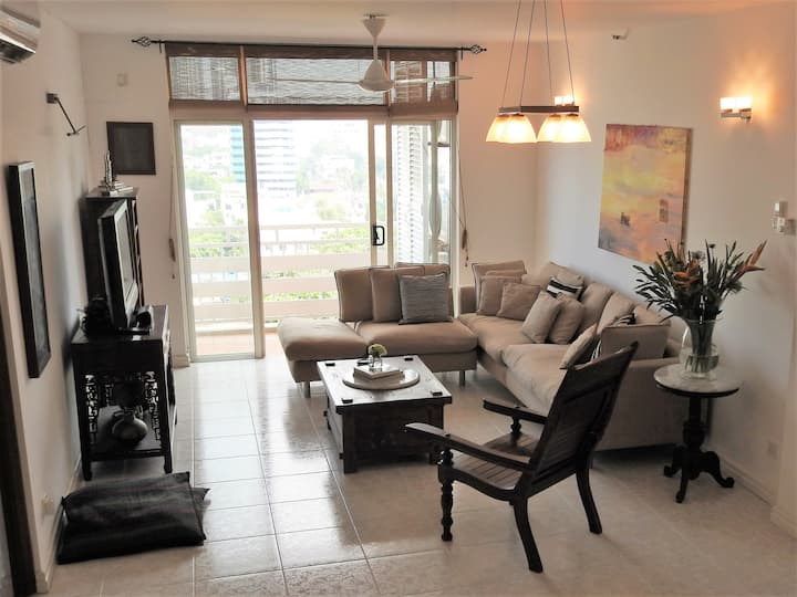 Airy oasis in the heart of Colombo