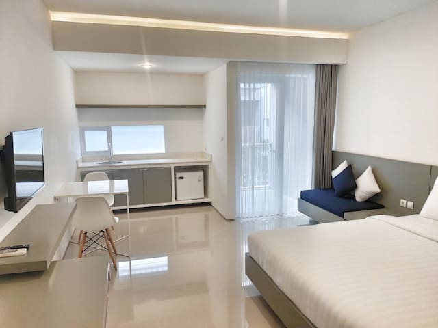 Luxury Studio couple apartment at Legian kuta Bali