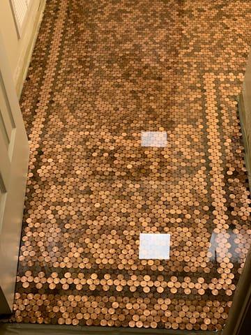 The Penny Floor House