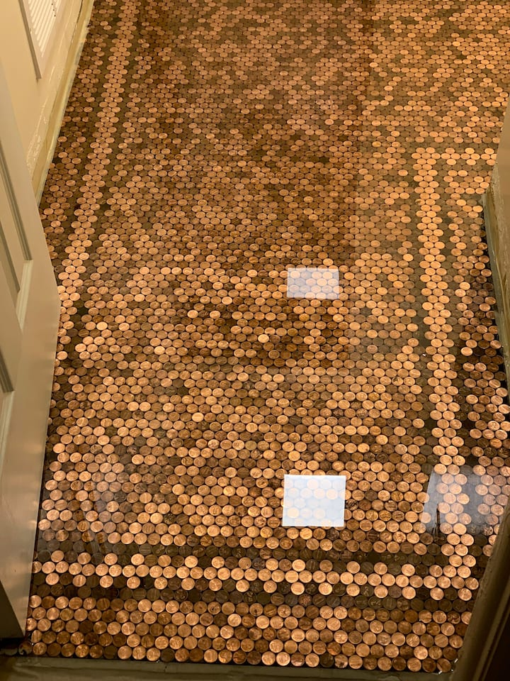 The Penny Floor House