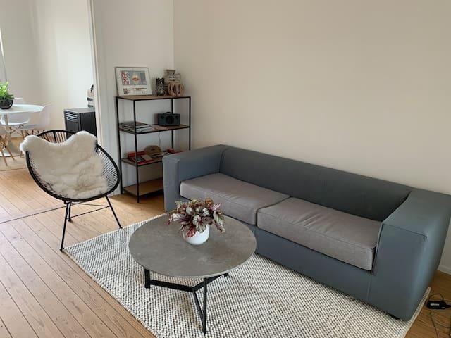 Trendy Bauhaus apartment