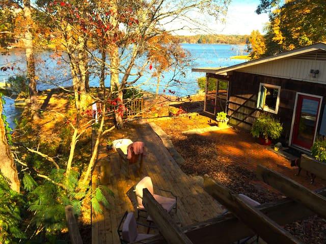 Water front lakehouse - Deatsville - Cabana