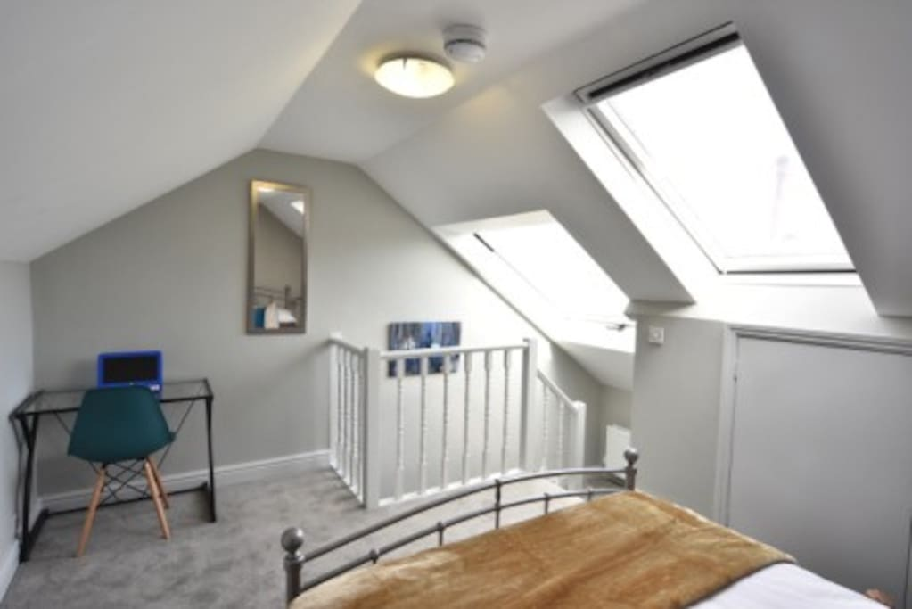 Attic room - private stairs