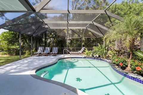 Pool house near Hyatt Regency Coconut Point