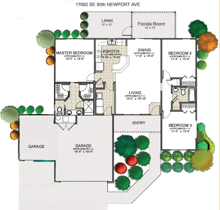 Newport House Floorplan