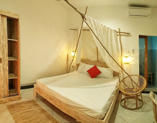 New Private Room 5 Min to Finns Beach Canggu