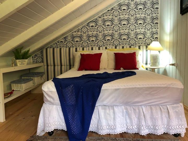 Padang Bangalô em Villa na Praia de Taquaras