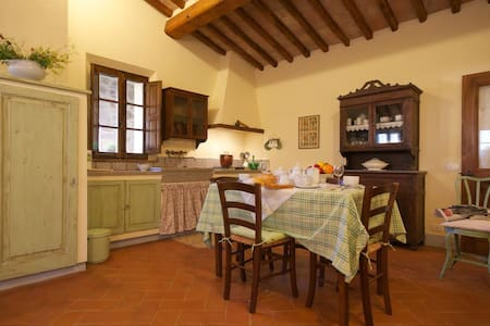 Stunning apartment near Montalcino, Val D`orcia - San Giovanni d'Asso
