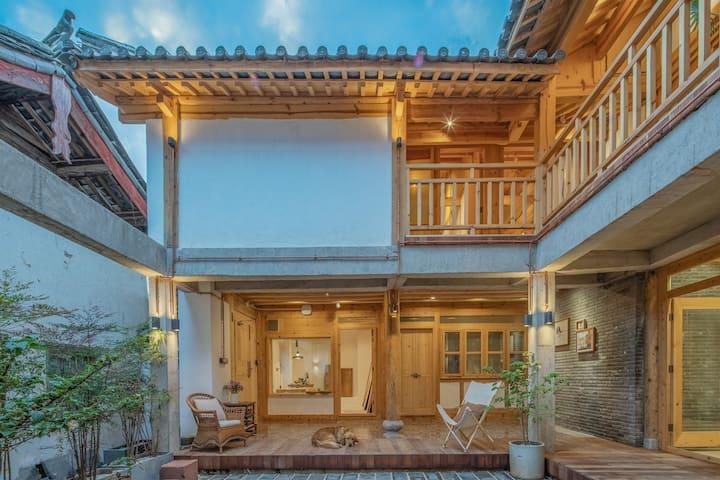 素舍民宿(二楼左)早餐·地暖·儿童房·瑜伽房·观景天台