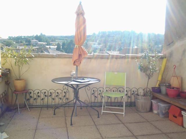 La Maison d'ISIS . Maison  Oenotourisme  Gîte - Tourouzelle - Casa