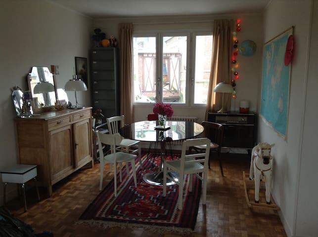 Nice 3-room flat - Dieppe - Apartment