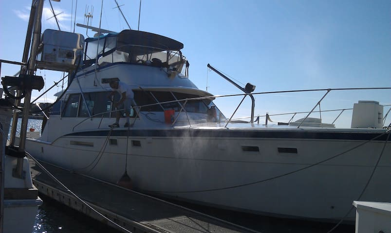 53 foot Hatteras Live Aboard Yacht - บริสเบน - เรือ
