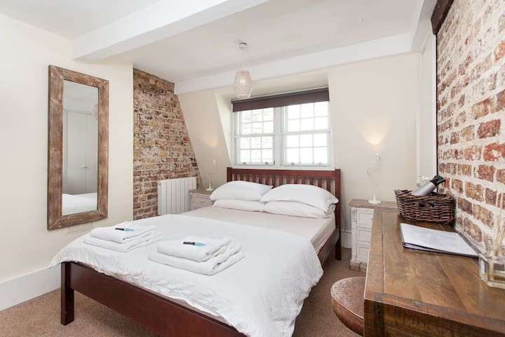 2) Soho Penthouse - Private Room - King Size Bed - Londres - Apartamento