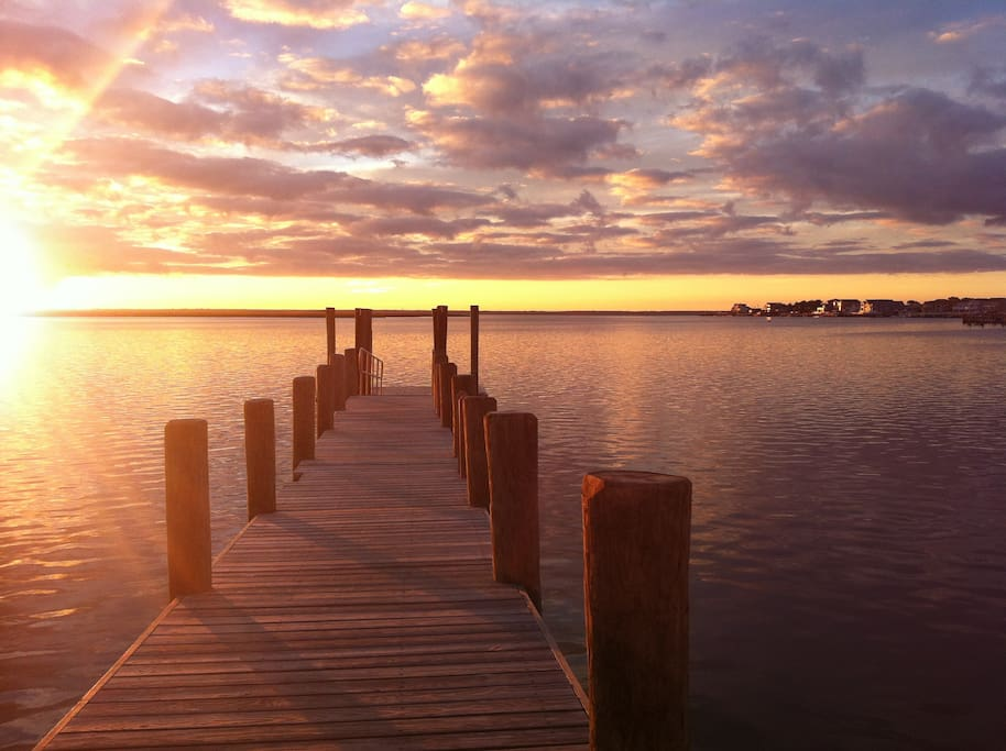 Brigantine Bay Sunset
