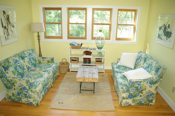 Sunny riverside carriage house - Bowdoinham - Daire