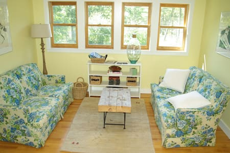 Sunny riverside carriage house - Bowdoinham