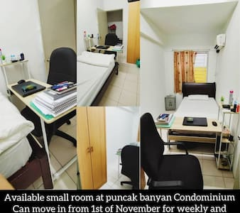 Budget Nice & Clean Small Room Available 4( D/W/M)