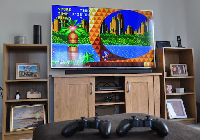 Retro Games Console with 100s of Games.