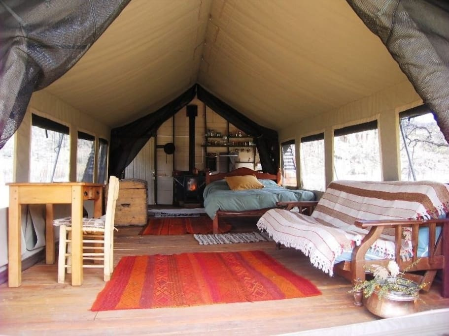 Safari Tent for three pax