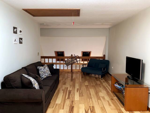 Loft with Queen size sleeper sofa and a twin size sleeper