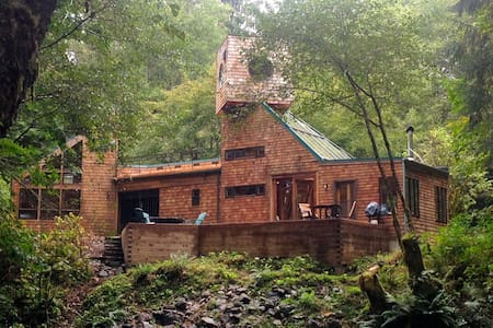 Soapstone Woodland River Retreat - Nehalem