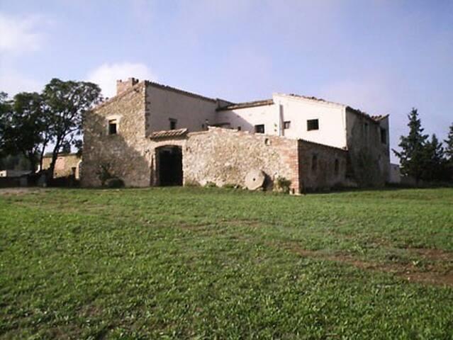 Masia s.XVII  en la Costa Brava
