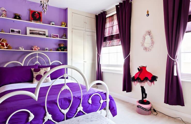 Large, quiet, double bedroom.  - Camden - Dom