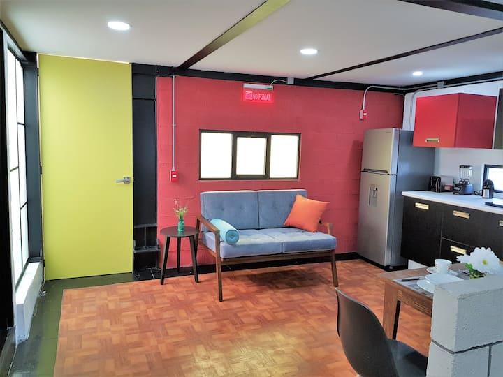 Cozy Loft close to Santa Fe Business Center
