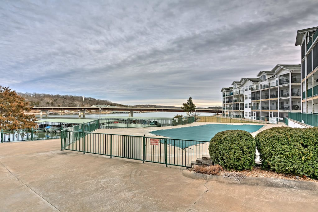 Access the 2 swimming pools in the gated community of Cedar Heights.