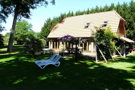 Oak Lodge on the Dordogne river - Mouleydier - Casa