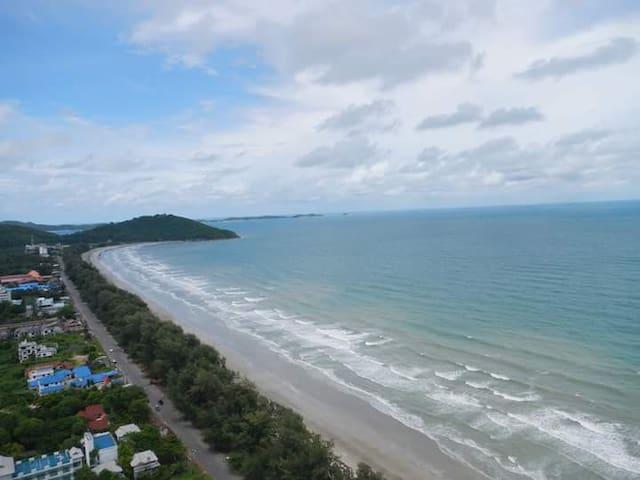 Beach View - Koh Samet Island in distance