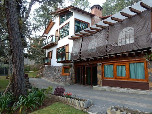 Casa Matilde, lujosa cabaña - Mazamitla