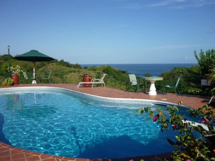 Top O Tobago Villa & Cabanas: Main House
