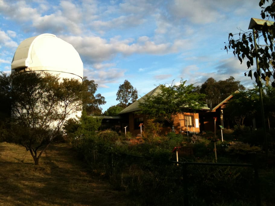 View of Skywatch from the Mini-golf course