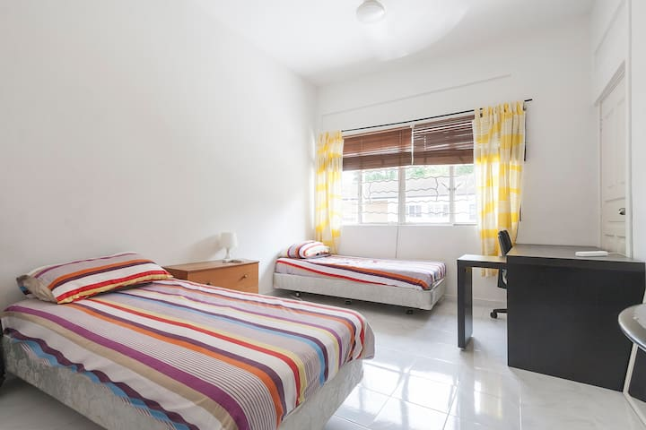 Room for 2 Opposite Holland Village - Singapura - Casa