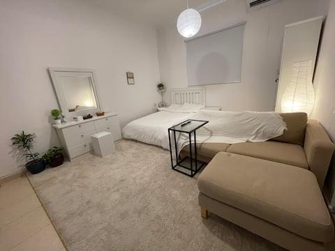 Small studio 207 in Al-waha district.Self check in