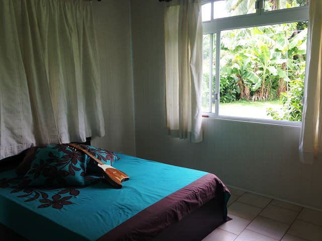Tahiti Rental Bedroom - Paea