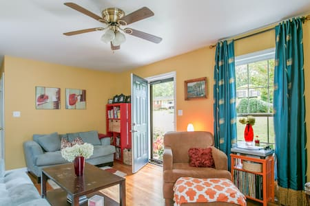Downtown living country yard - Raleigh - Casa