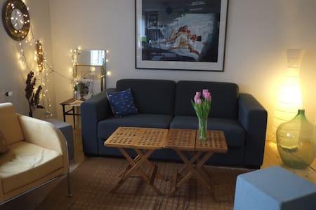 Hyggeligt værelse og gode faciliteter - Tranbjerg
