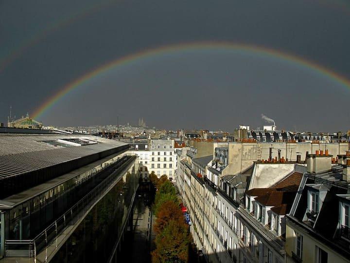 Vue unique ds le cœur de Paris