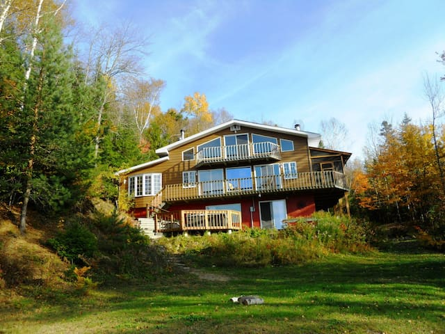 Waterfront Chalet Ghislaine Mont Tremblant