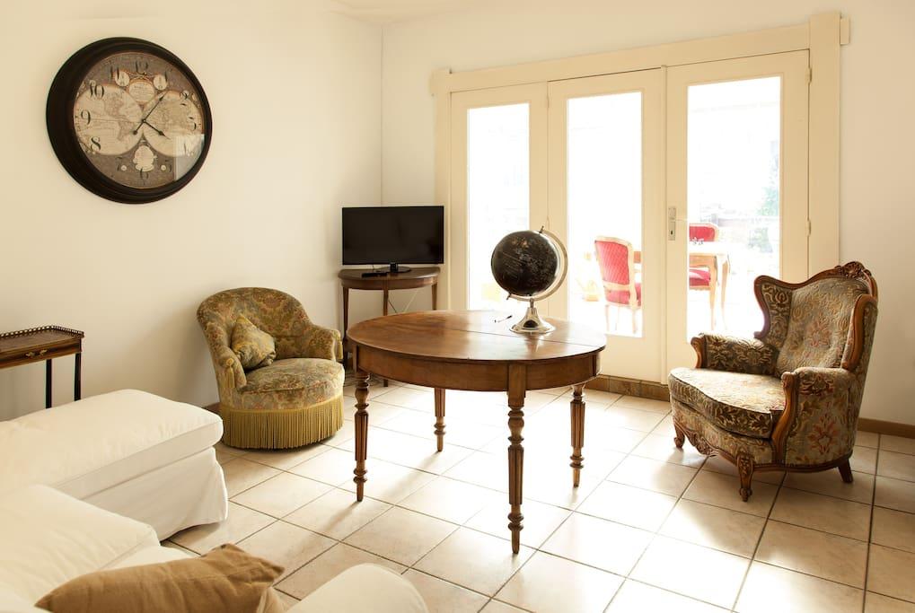 Spacieux appartement comme chez soi jardin for Appartement a louer avec jardin bruxelles