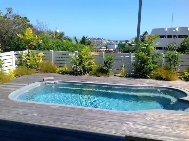 Beau F3+ piscine au coeur de Nouméa - Nouméa - Appartement