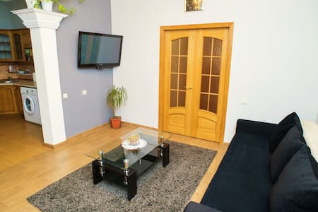 Luxury 3-Room Apartment in Center - Chisinau